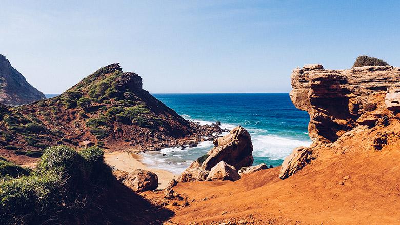 L'île de Minorque
