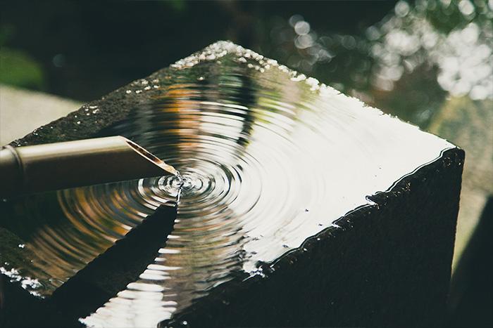 Les reflets de l'eau